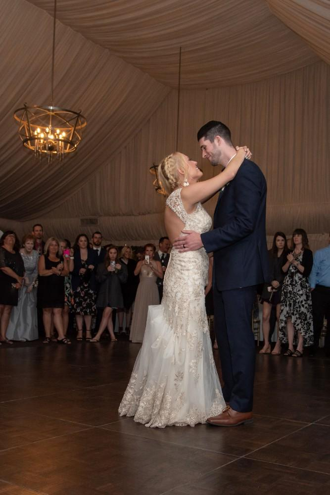 Kirstie Dale first dance