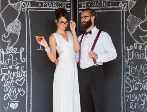 How-to Rock Glasses on your Wedding Day