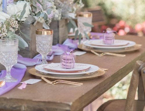 Styled Shoot – Amethyst Garden Oasis