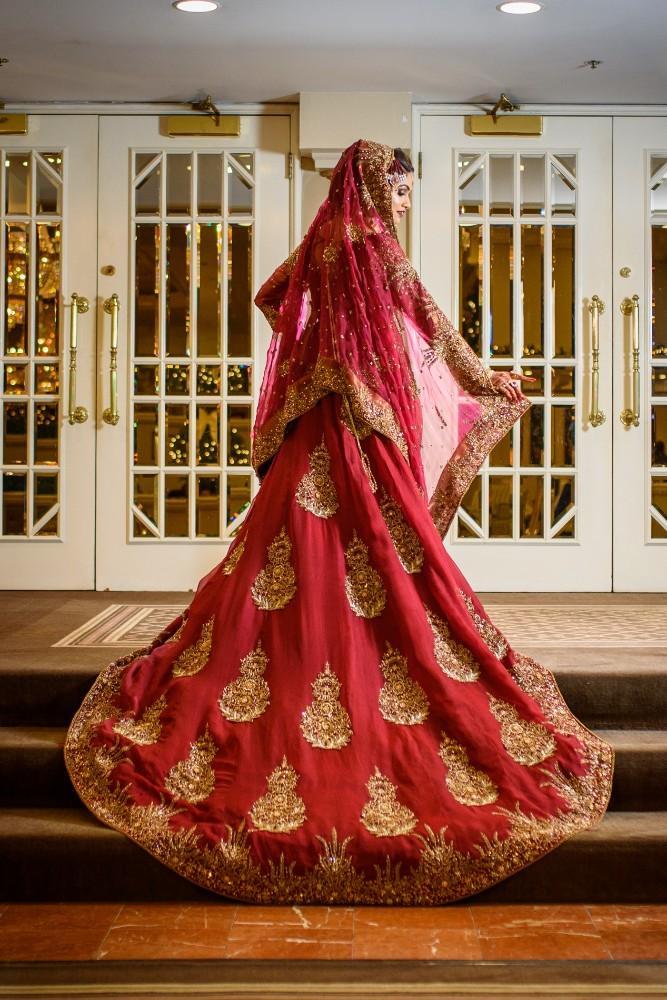 khadija eabad bride's gown