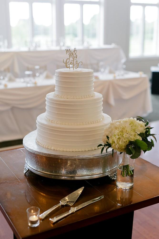 charles maggie wedding cake