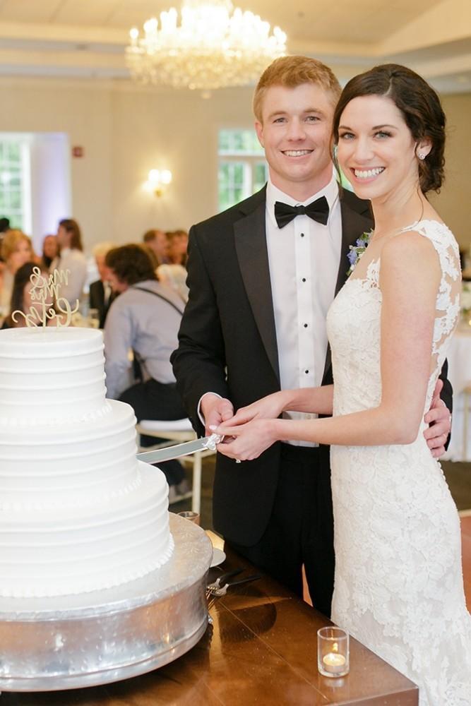 maggie charles wedding cake