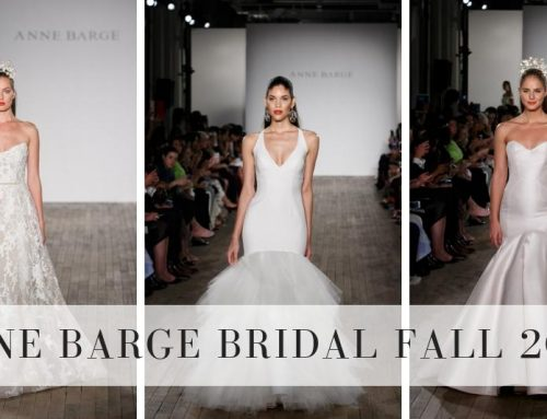 Anne Barge Fall 2019 Bridal Collection