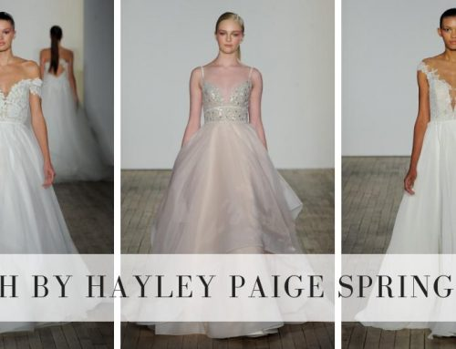 Blush by Hayley Paige Spring 2019 Collection