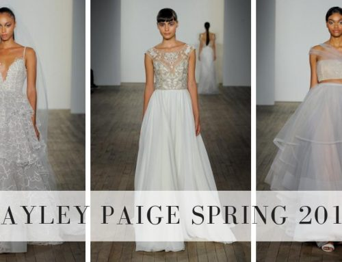 Hayley Paige Spring 2019 Collection