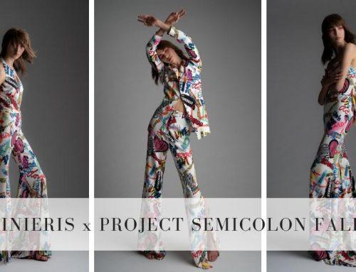 Rita Vinieris x Project Semicolon Fall 2019