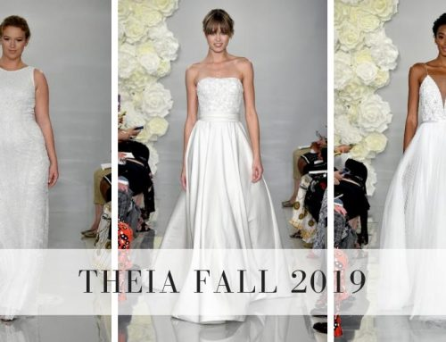 THEIA Fall 2019 Bridal Collection