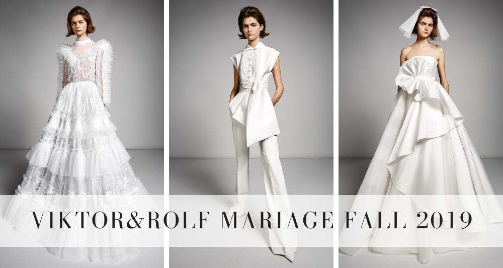 Viktor & Rolf Mariage Fall 2019 | Wedding Gown Collection