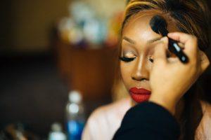 dominique and william makeup