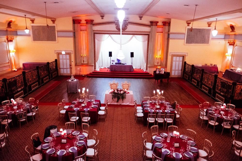 dominique and william reception stan mansion