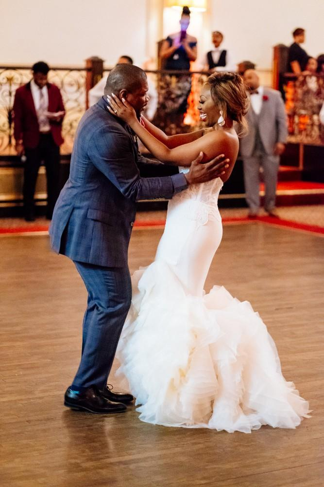 dominique and william first dance
