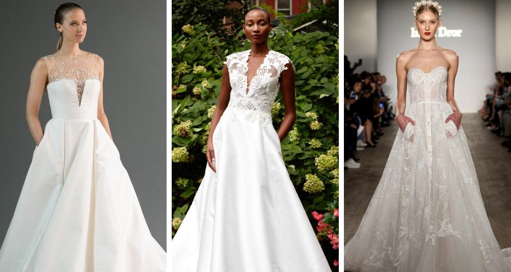 New York Bridal Fashion Week Oct 2018 Top Trends