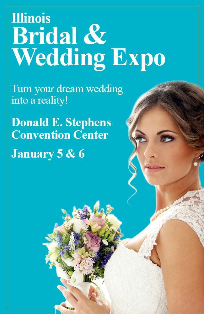 Illinois Bridal and Wedding Expo - Chicago, Illinois January 2019