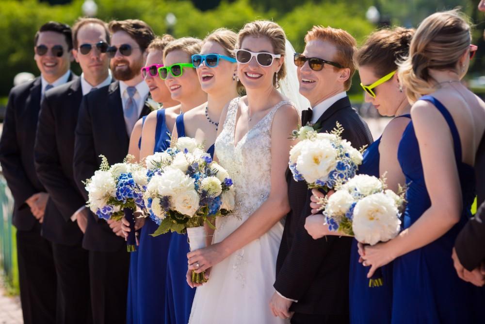 stephanie dane local love the blackstone bridal party fountain