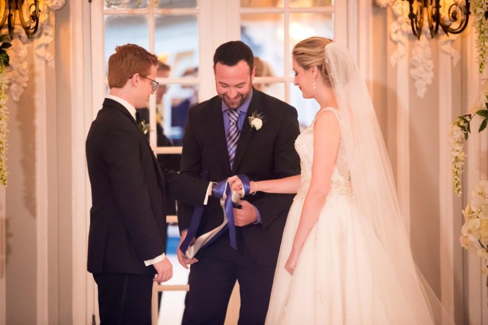 stephanie dane local love the blackstone ceremony hand tie