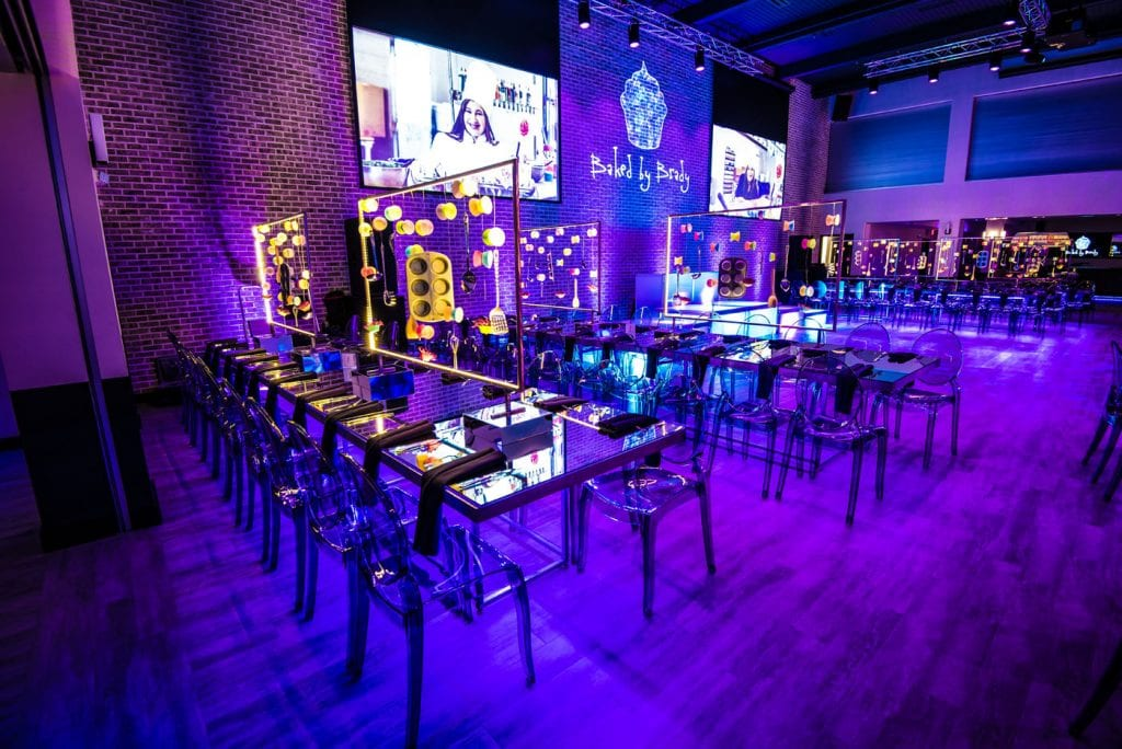 Brady S Purple Blue Baking Themed Bat Mitzvah