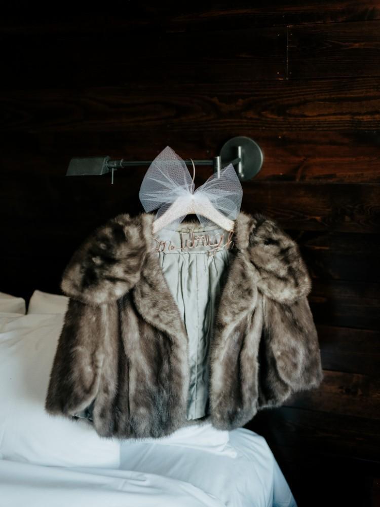 brad & jen bridal fur