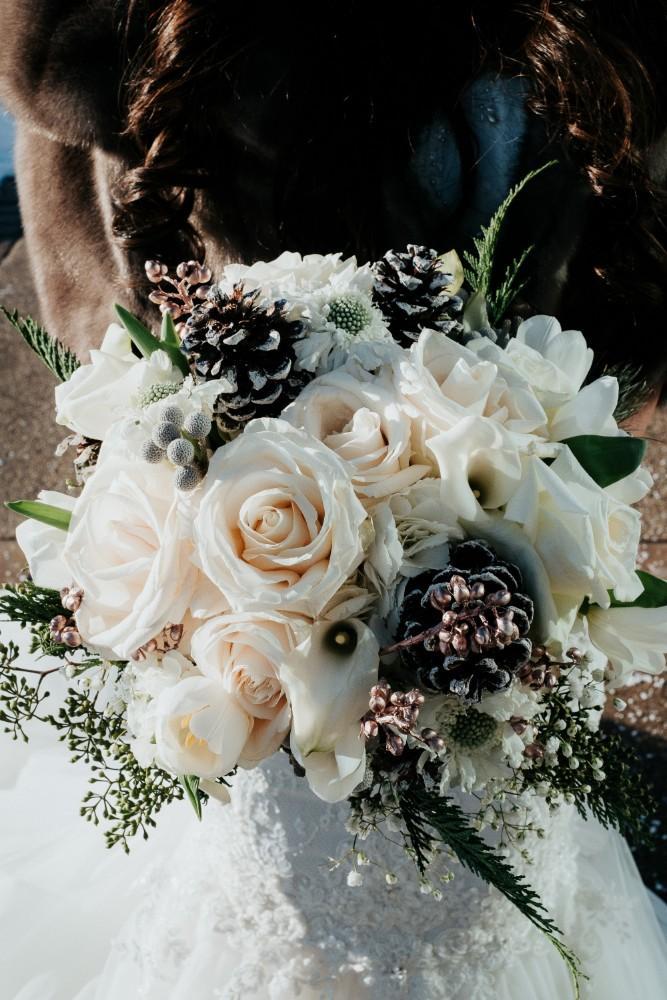brad & jen bride bouquet