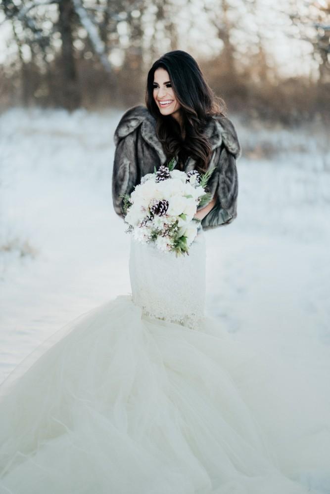 brad & jen bridal portrait