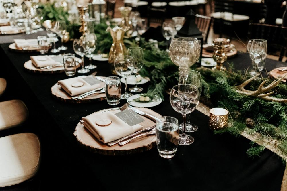 jen & brad table setting