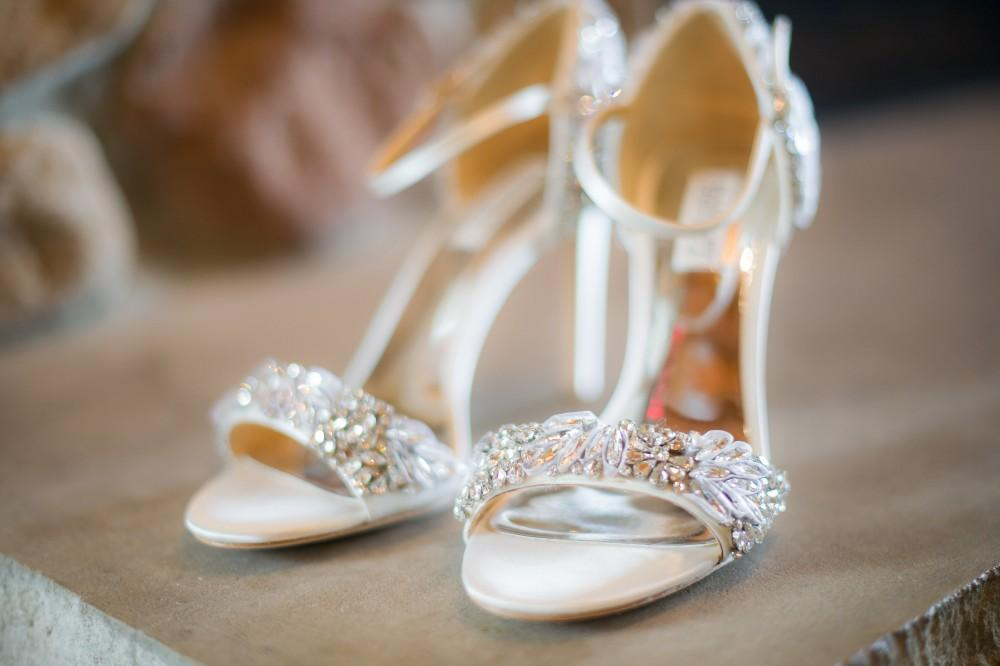 kelley & roger geneva national resort bridal shoes