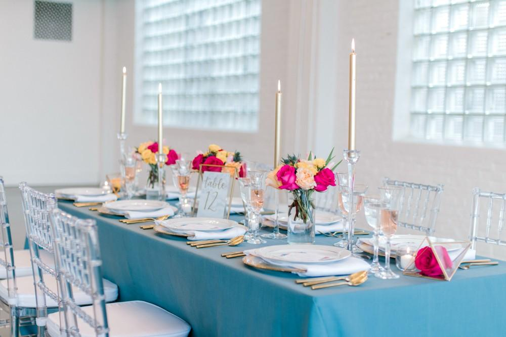 styled shoot bold colors room 1520