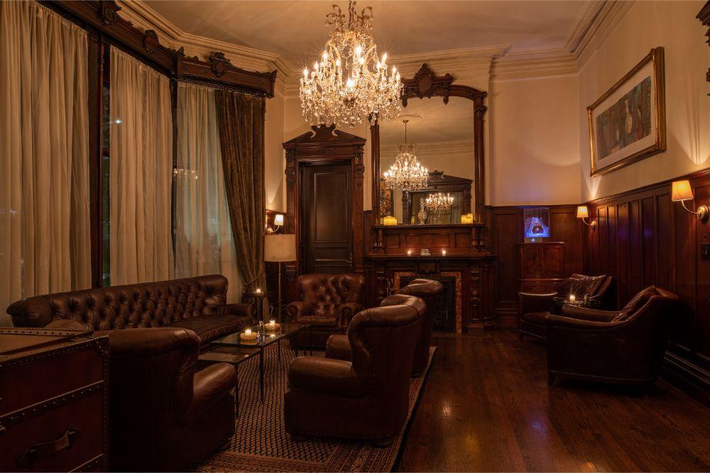 Biggs Mansion in Chicago, Illinois | Wedding Venue | Bachelor Party | Cigar Shop