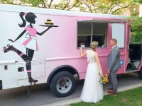 food truck wedding reception summer 2019 wedding trends