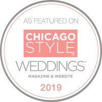 Featured On ChicagoStyle Weddings 2019 | Badge