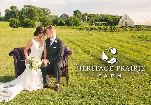 Heritage Prairie Farm in Elburn, Illinois | Wedding Venue