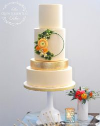 The Quintessential Cake in Wheaton, Illinois | Wedding Cakes | Custom Cake