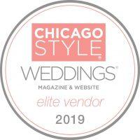 ChicagoStyle Weddings Vendor 2019 | Badge