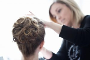 White Lotus Weddings in Lockport, Illinois   Wedding Hair   Wedding Makeup