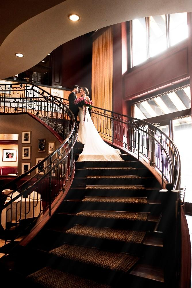 styled shoot the clubhouse staircase