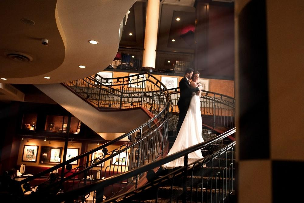 styled shoot the clubhouse grand staircase
