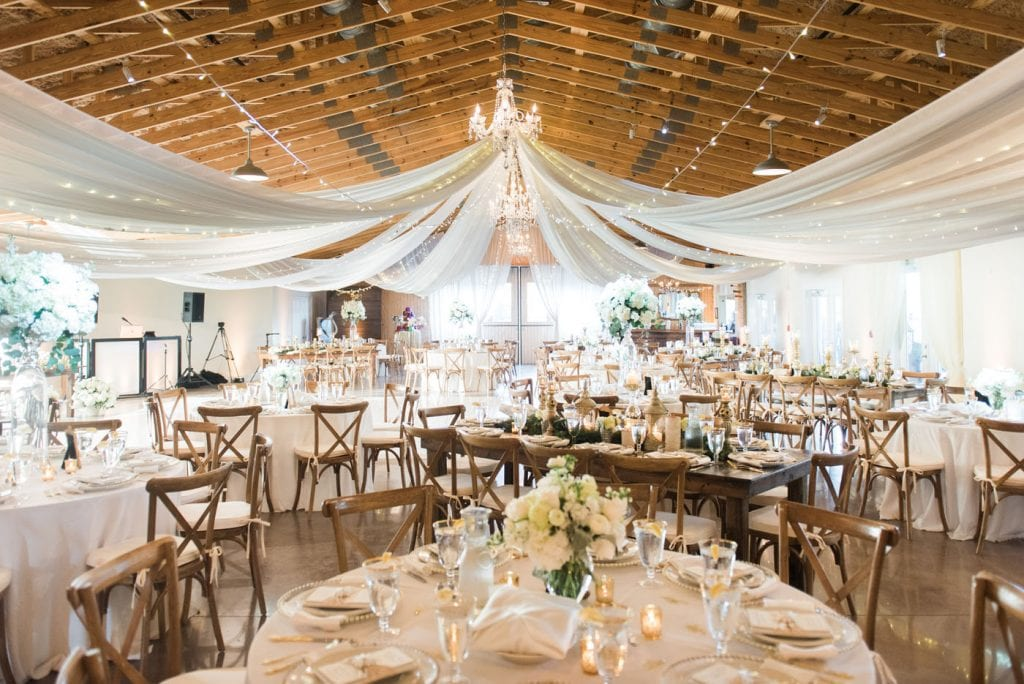 Kristin Anthony S Gold White Winter Wedding The Celebration