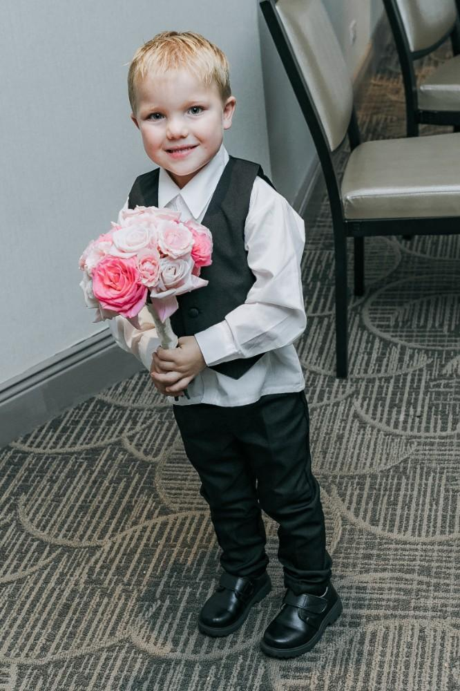 lindsey mike rolling green golf club ring bearer