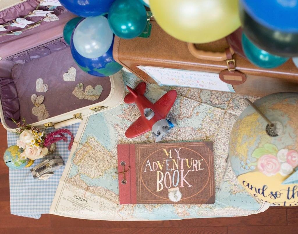 Vintage Travel Inspired 1st Birthday Party