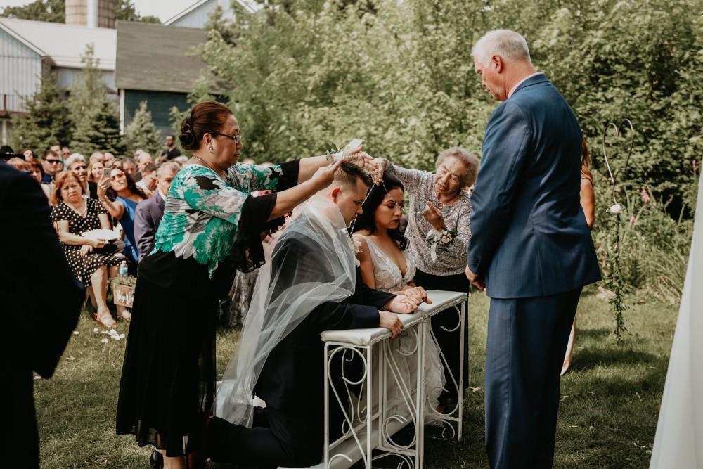monica corey the landing 1841 wedding ceremony