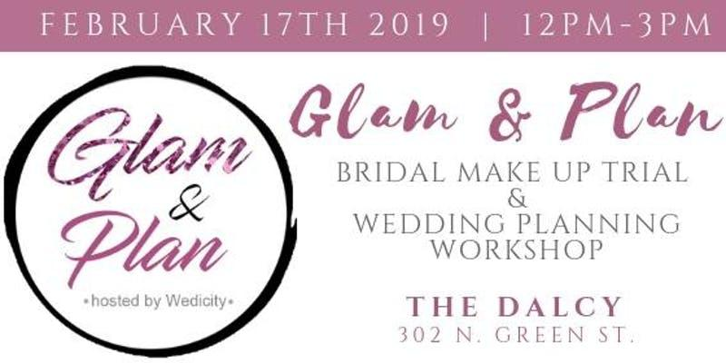 glam and plan wedicity feb 2019