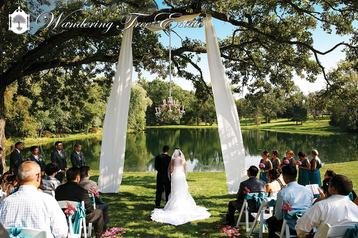 wandering tree estate wedding altar alternatives