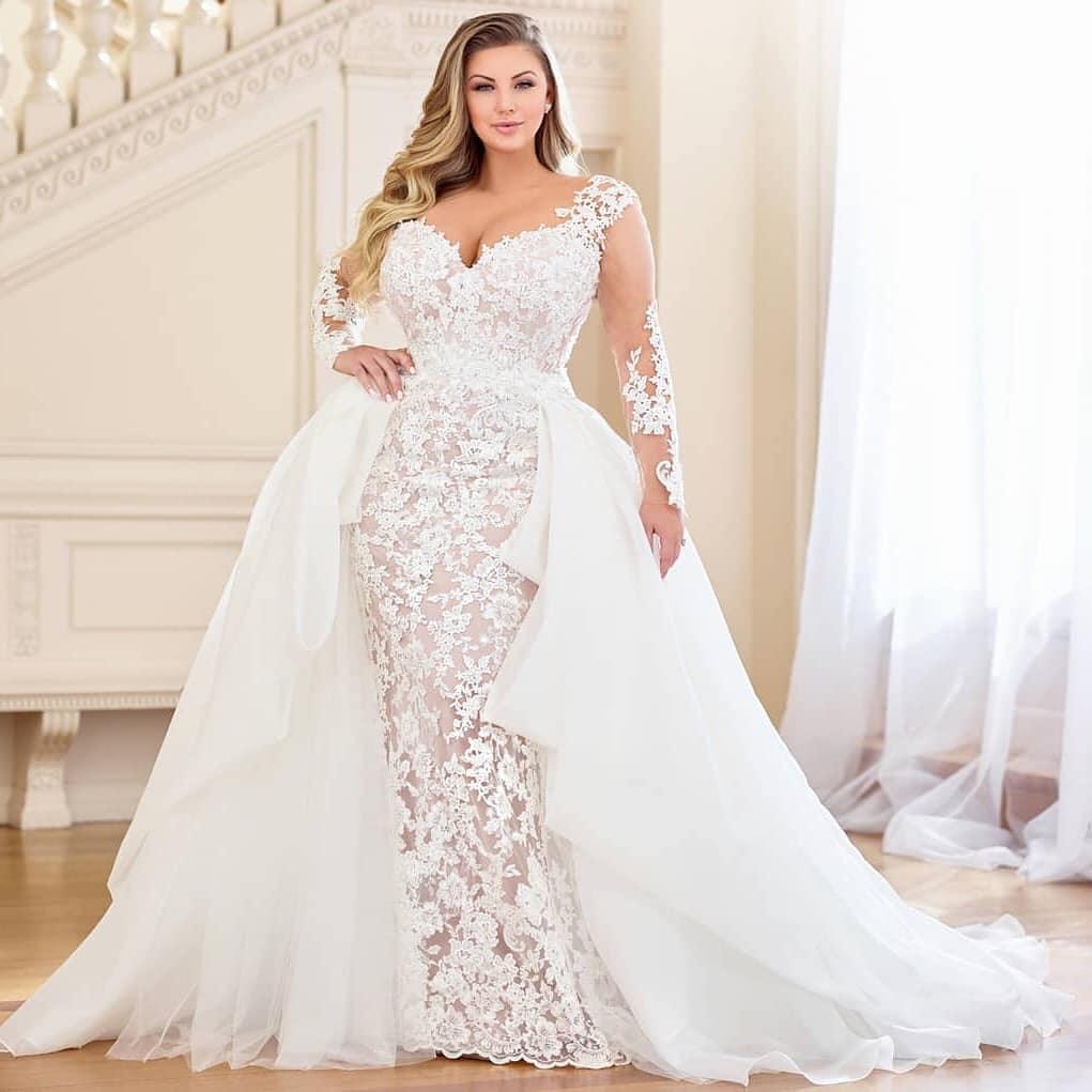 evas bridal international plus size trunk show