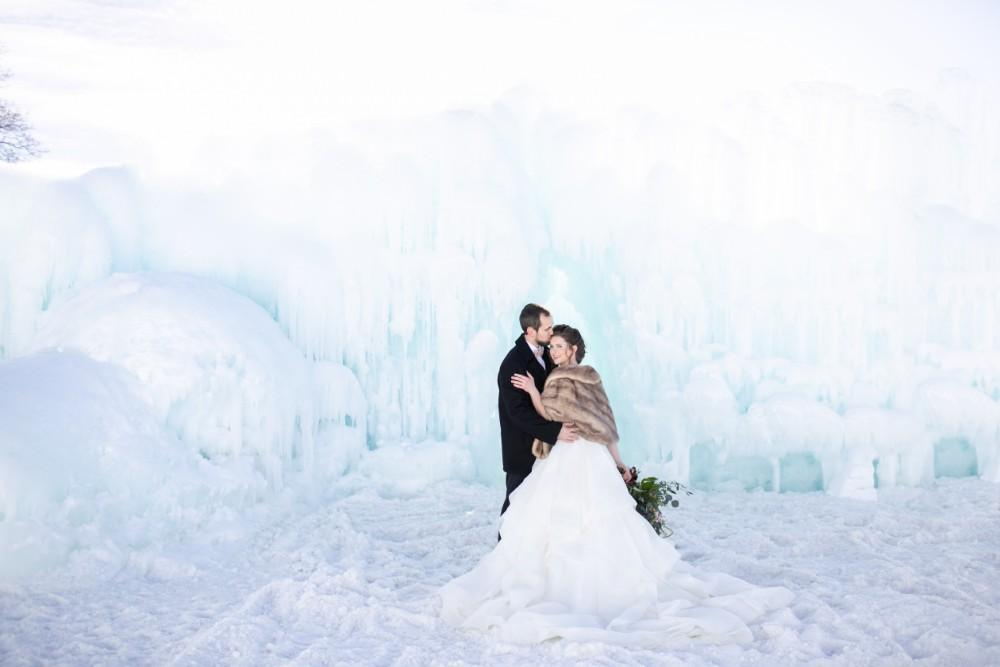 ice castles styled shoot