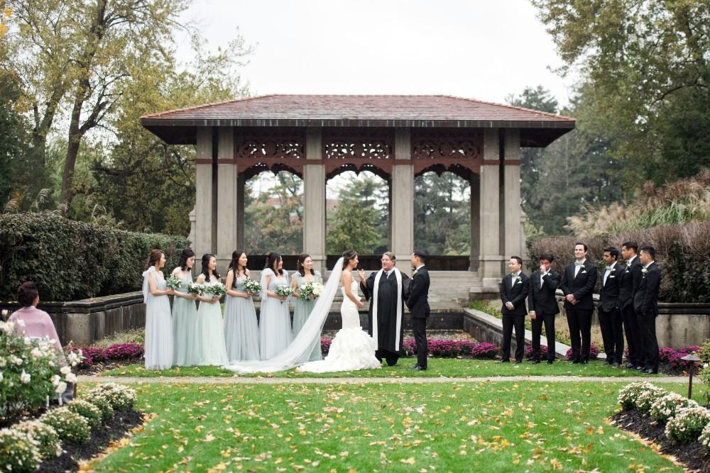 haejin albert armour house wedding ceremony