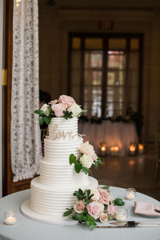 haejin albert armour house wedding cake
