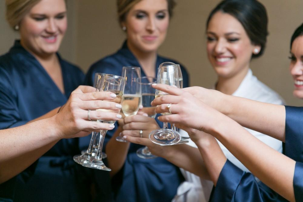 lauren colin bridesmaids getting ready