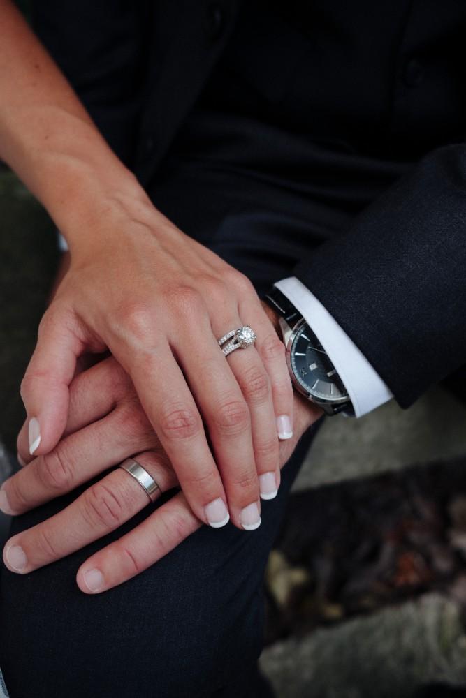 alexandra jacob franchesco's ristorante wedding rings