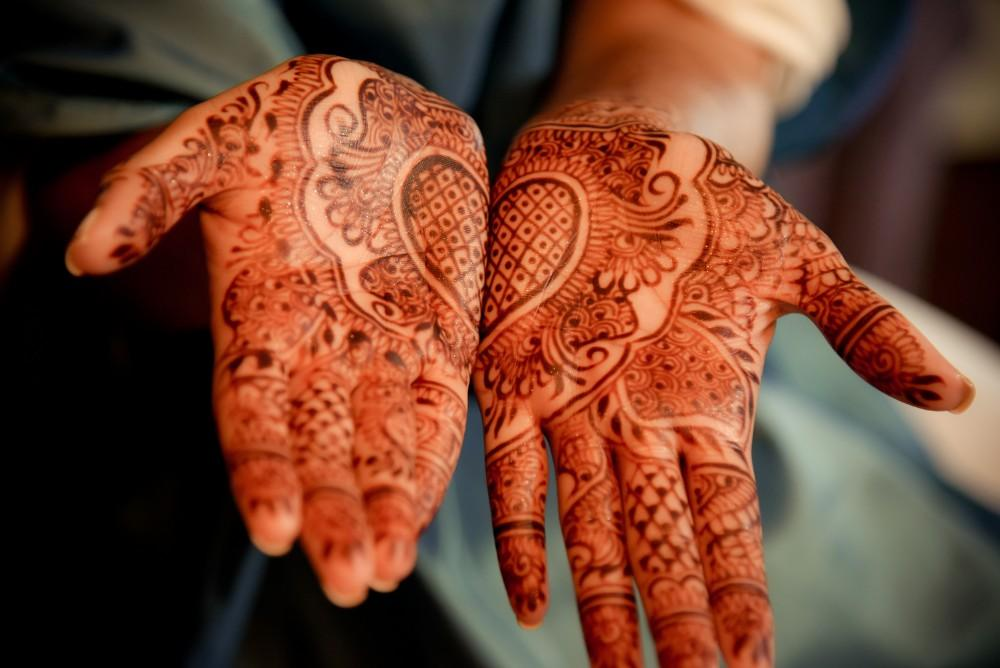 bindu ed thewhit henna