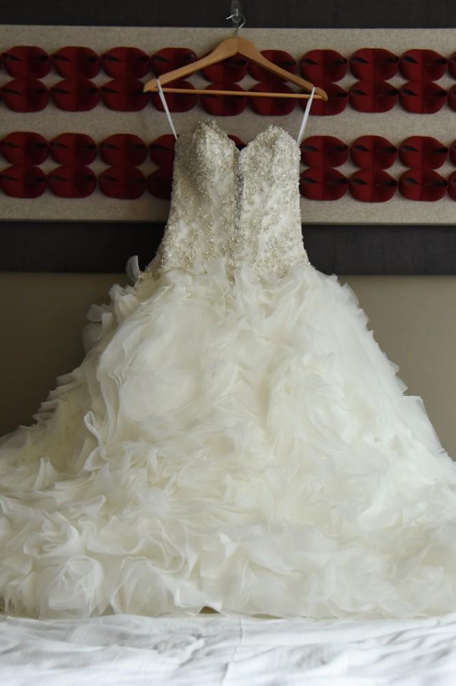 bindu ed thewhit wedding dress