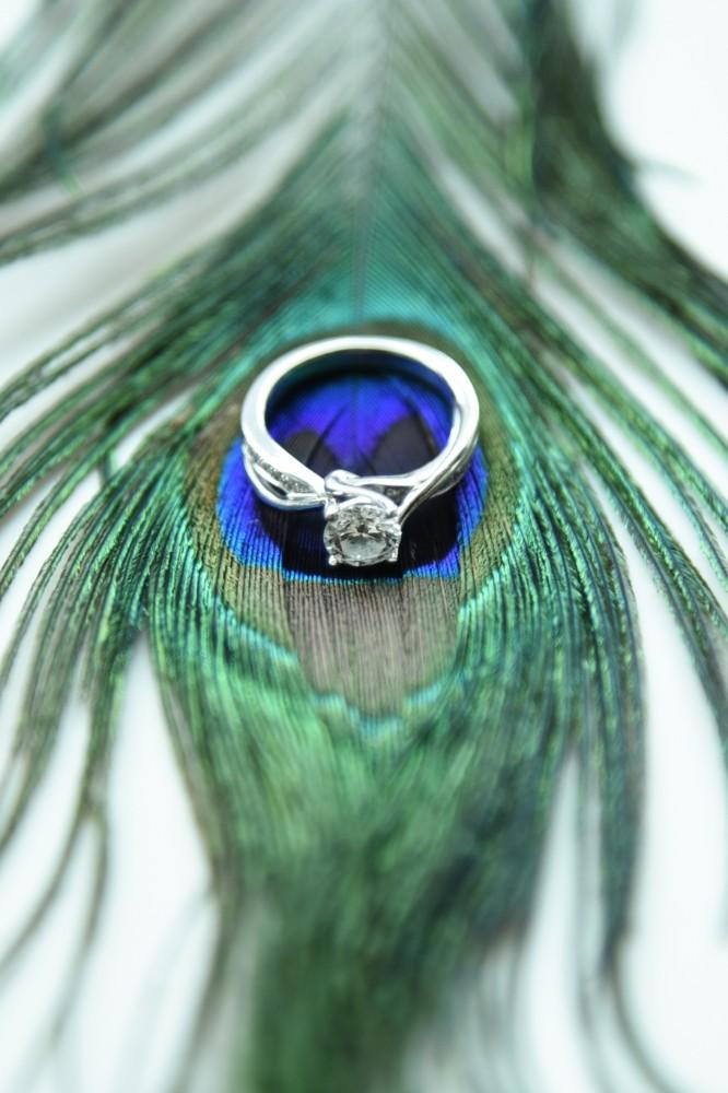 bindu ed thewhit engagement ring